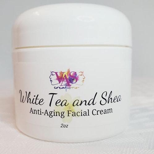 White Tea and Shea Anti-aging Facial Cream