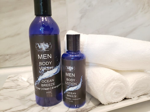 Ocean Breeze Body Wash  with Hydrating Lotion