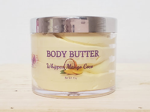 4 oz Whipped Mango Coco Body Butter