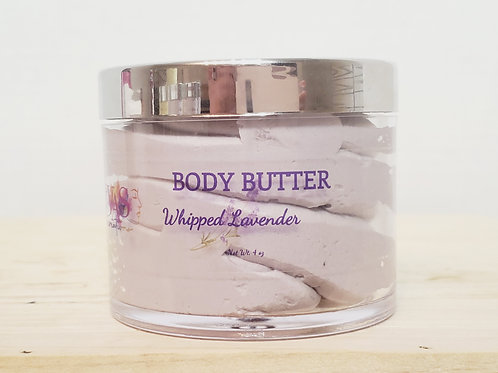 4 oz  Whipped Lavender Body Butter