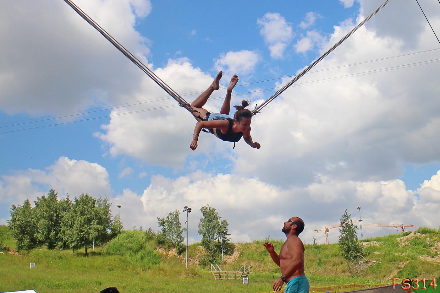 спортивно тренировочный батут купить в москве