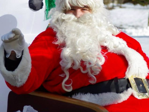 Santa in the District this Sunday, 12/20, 9AM-5PM!
