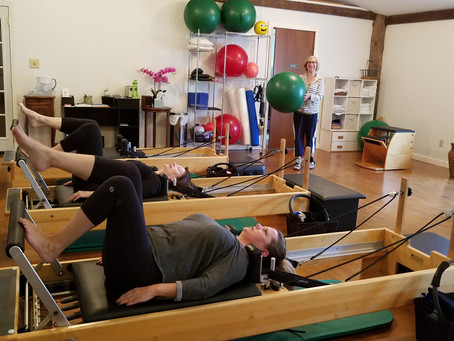Types of Pilates Sessions Offered