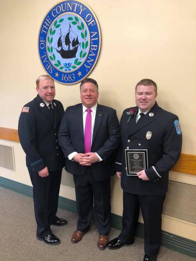 Albany County Volunteer Award - Steve Le