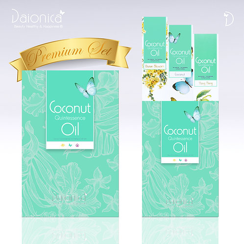 Daionica® Coconut Quintessence Oil_3 Bottles