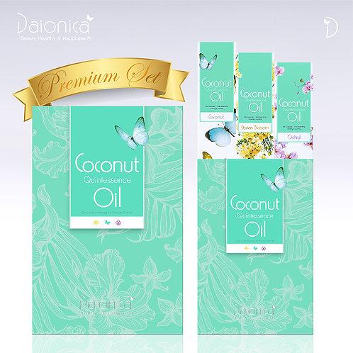 Daionica® Coconut Quintessence Oil_3 Bottles