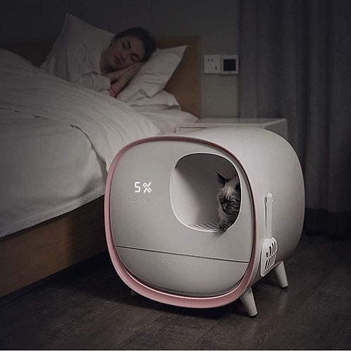 Large Intelligent Cat Litter Box Deodorant Toilet Training Kit Smart Automatic