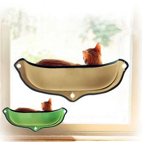 Cat Hammock Bed Window Pod Lounger