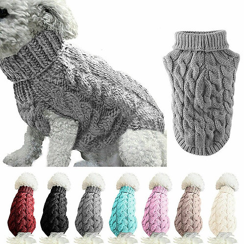 Winter Knitted cat/small dog Jumper Knitwear Warm Sweater