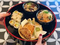 ארוחה יפנית יאנאגי סושי בר