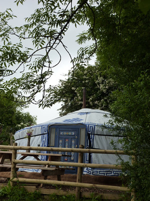 Broad Down yurt
