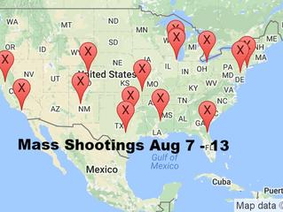 August 7 - 13, 2016 | Timelines of Gun Violence