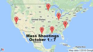 October 1 - 7   Timelines of Gun Violence