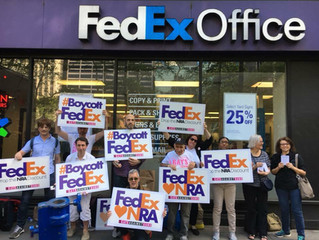Mass Shooting Jacksonville, Fla. GAG Pressures NRA Enabler FedEx