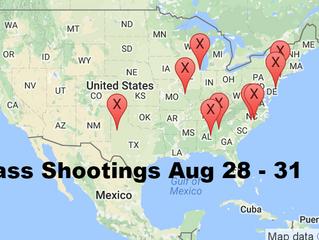 August 28 - 31, 2016 | Timelines of Gun Violence
