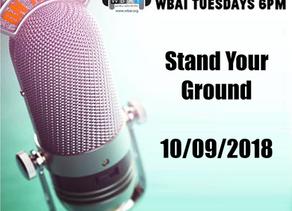 Radio GAG: Stand Your Ground 10/9/2018
