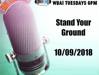 Radio GAG: Stand Your Ground 10/9/2018