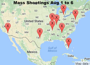Week 1: August, 2016 | Timelines of Gun Violence