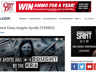 News Site Guns.Com Reports on GAG's Ayotte Demonstration | GAG in the News