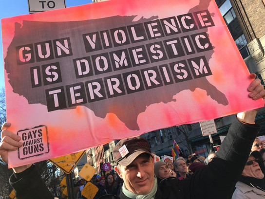 Gun Violence is Domestic Violence - john
