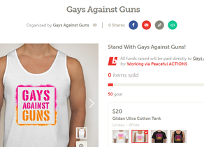 Get a Fabulous T-Shirt! | GAG's Booster Campaign