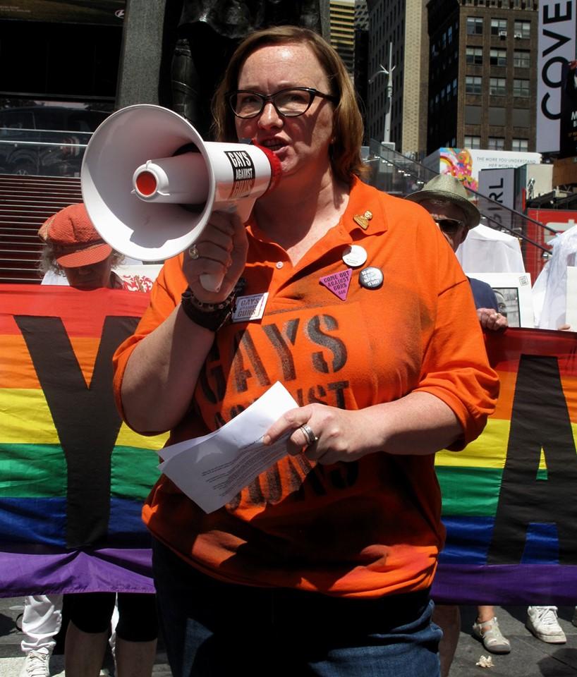 GAG Organizer Maryellen Speaks!