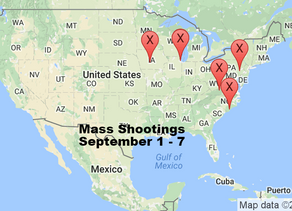 September 1 - 7 | Timelines of Gun Violence