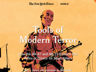 New York Times Publishes Comprehensive  Assault Weapon Article | Building Background Knowledge