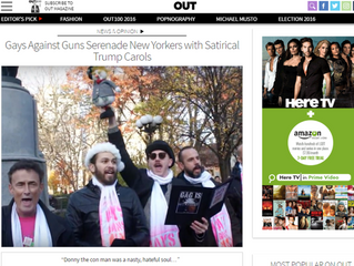 """Our GAGNoggers """"Out""""-ed with Mention in Out Magazine! 