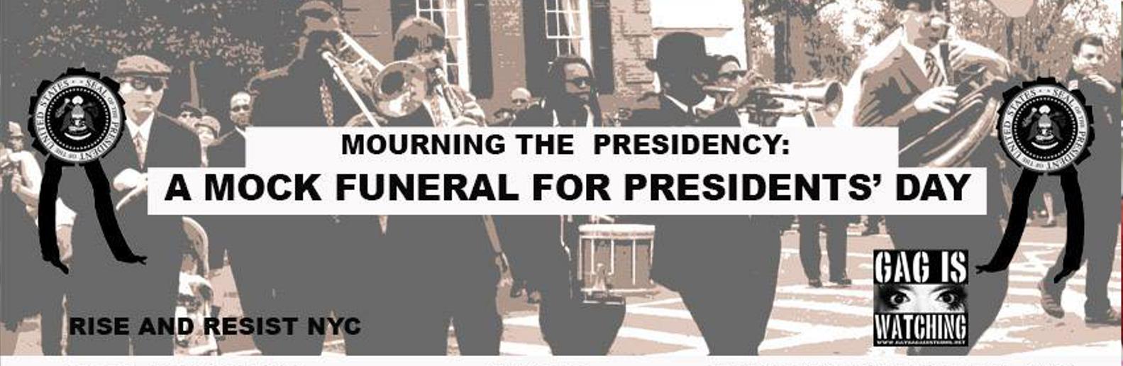 Morning the Presidency