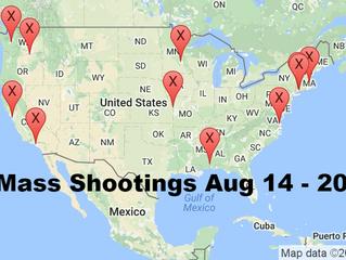 August 14 - 20, 2016 | Timelines of Gun Violence
