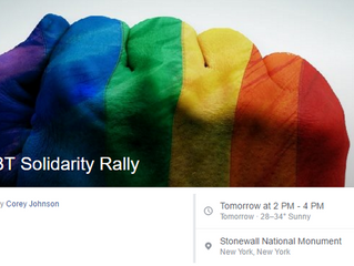 Join the GAG Contingent at the LGBT Rally on Saturday | GAG is Watching