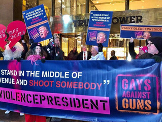 GAG Takes to Trump Tower in Gun Violence President Action! | Event Recap