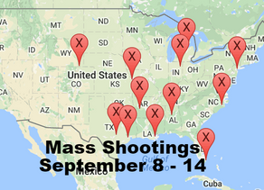 September 8 - 14 | Timelines of Gun Violence