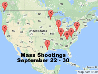 September 22 - 30 | Timelines of Gun Violence
