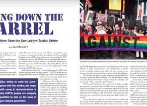 Gays Against Guns Featured in Excellent 2018 Boston Pride Guide   GAG In the News