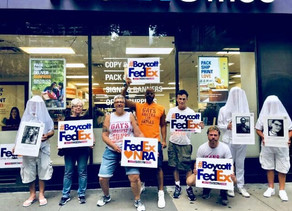 Victory for GAG!Fed Ex Drops NRA