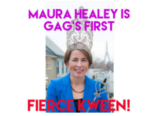 """OUR GAG """"FIERCE KWEEN OF THE MOMENT"""" AWARD GOES TO..."""