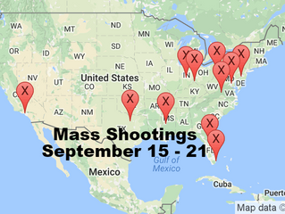 September 15 - 21 | Timelines of Gun Violence