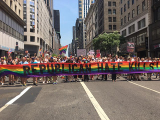 Gays Against Guns Makes News and Takes to the Street