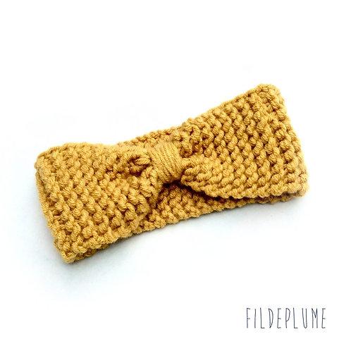 Bandeau tricot enfant