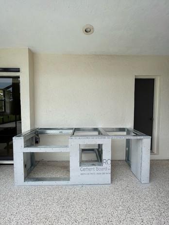 Aluminum Framing Outdoor Kitchen Ideas