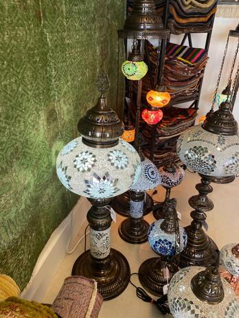 RUSTIC LAMPS