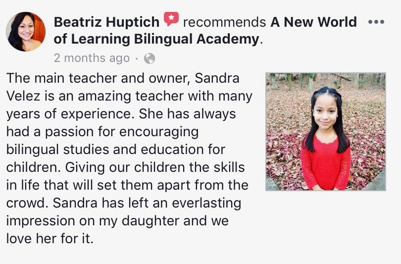 PARENT TESTIMONIALS AND REVIEWS