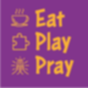 EatPlayPray logo Square on Purple.png
