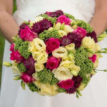 bruidsboeket fotografie
