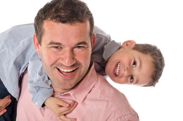 familiefotografie vader met zoon