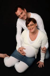 zwangerschapsreportage stel