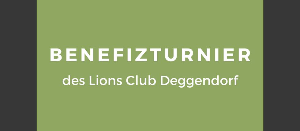 Benefizturnier des Lions Club Deggendorf