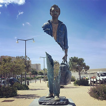 «Bleu de Chine» de Bruno Catalano. #plan